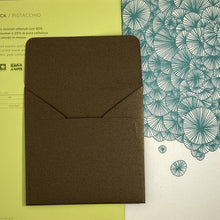 Load image into Gallery viewer, Bronze Square Straight Flap Envelope   110