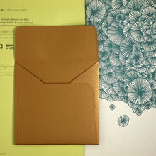 Load image into Gallery viewer, Copper Square Straight Flap Envelope   110