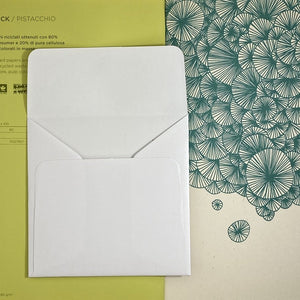 Crystal Square Straight Flap Envelope   110