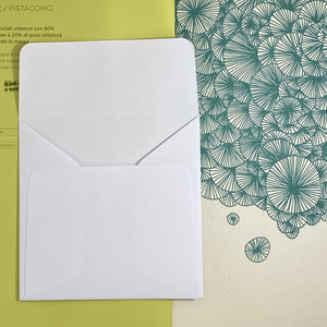 Artic White Square Straight Flap Envelope   110