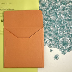Flame Square Straight Flap Envelope   110