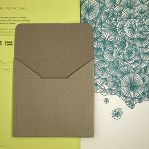 Kraft Square Straight Flap Envelope   110