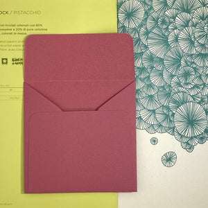 Malva Square Straight Flap Envelope   110