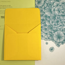 Load image into Gallery viewer, Mangue Square Straight Flap Envelope   110
