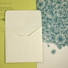 Load image into Gallery viewer, Merida Cream Square Straight Flap Envelope   110