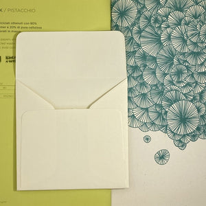 Merida Cream Square Straight Flap Envelope   110