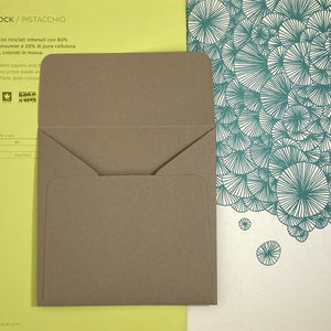 Noce Square Straight Flap Envelope   110