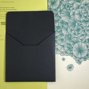Onyx Square Straight Flap Envelope   110