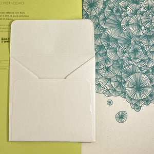 Opal Square Straight Flap Envelope   110