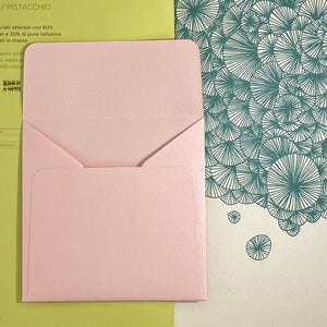 Rose Quartz Square Straight Flap Envelope   110