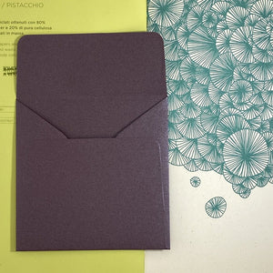 Ruby Square Straight Flap Envelope   110