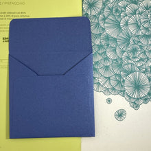 Load image into Gallery viewer, Sapphire Square Straight Flap Envelope   110