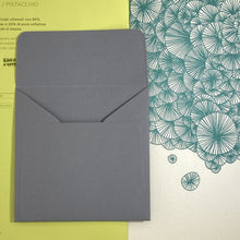 Load image into Gallery viewer, Slate Square Straight Flap Envelope   110
