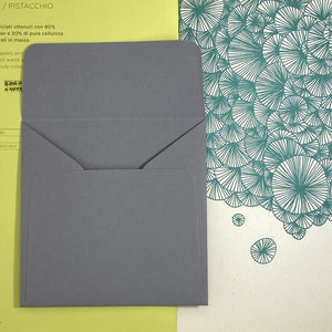 Slate Square Straight Flap Envelope   110