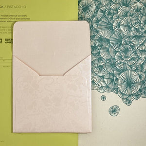 RosePink Square Straight Flap Envelope   110