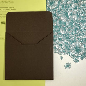 Tourbe Square Straight Flap Envelope   110