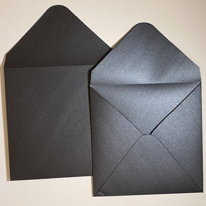 Anthracite V Flap Envelope   160