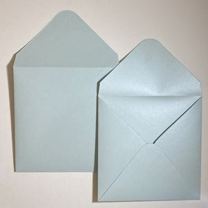 Aquamarine V Flap Envelope   160