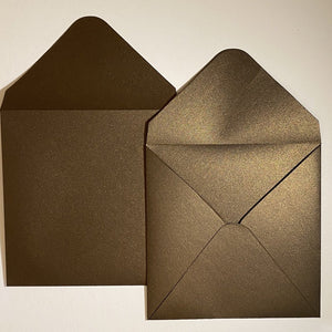 Bronze V Flap Envelope   160