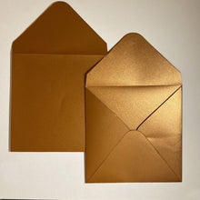 Load image into Gallery viewer, Copper V Flap Envelope   160