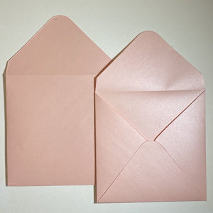 Rose Quartz V Flap Envelope   160