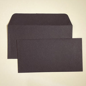 Aubergine DL Wallet Envelope