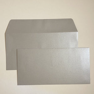 Silver DL Wallet Envelope
