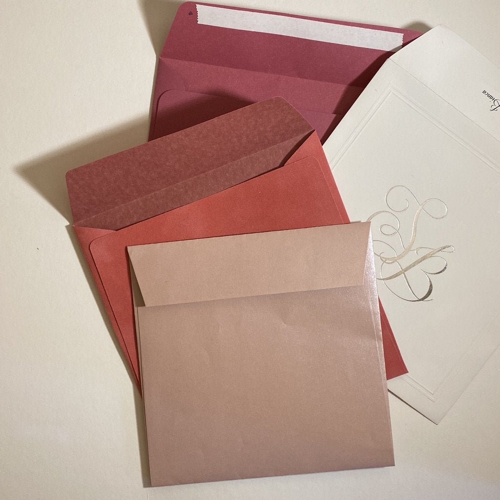Square Straight Flap Envelope   110