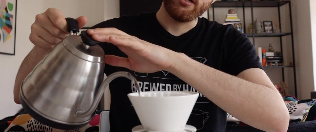 April Pour Over Coffee Maker Video Review