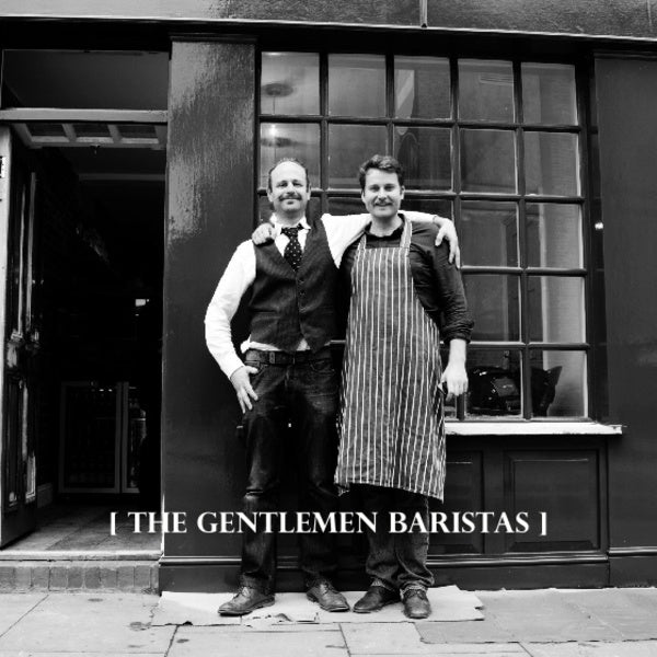 Coffee and interview with The Gentlemen Baristas