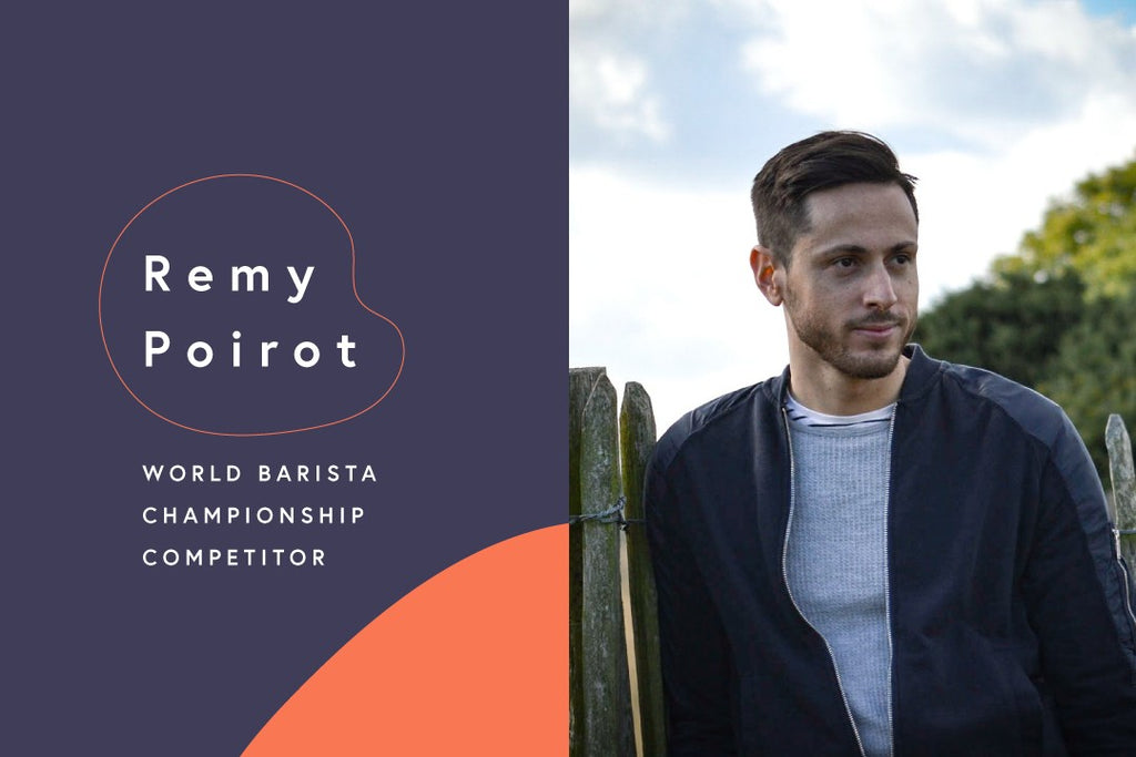 The Road to the World Barista Championships: Remy Poirot