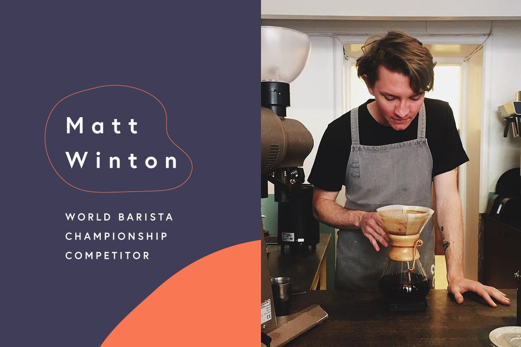 The Road to the World Barista Championships: Matt Winton