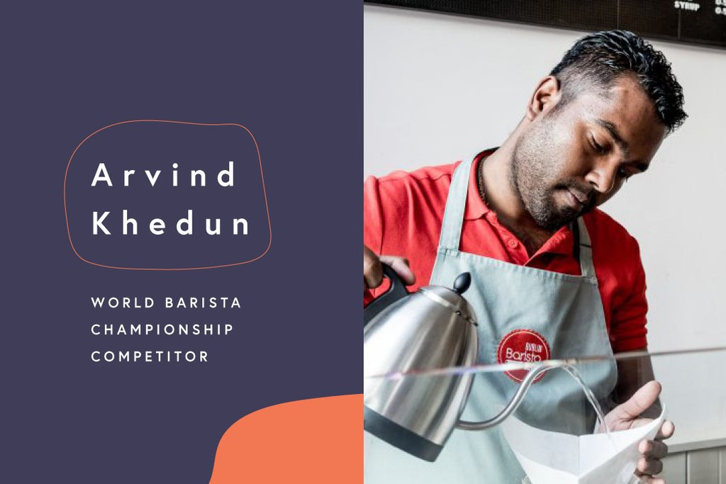 The Road to the World Barista Championships: Arvind Khedun