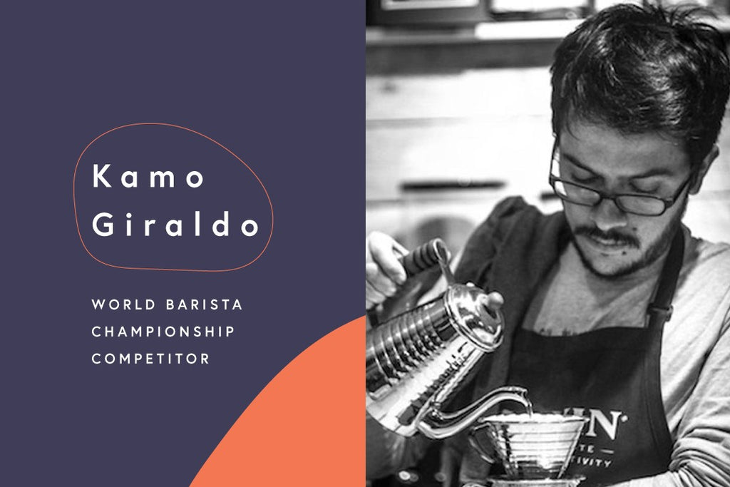 The Road to the World Barista Championships: Kamo Giraldo