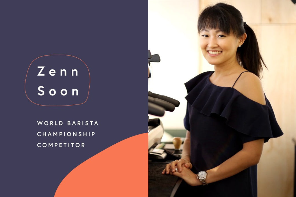 The Road to the World Barista Championships: Zenn Soon