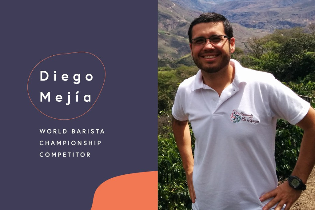 The Road to the World Barista Championships: Diego Mejía