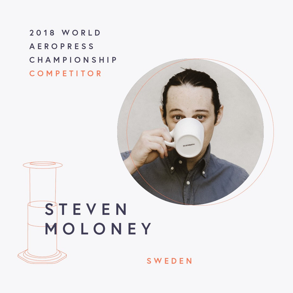 The World AeroPress Championships: Steven Moloney