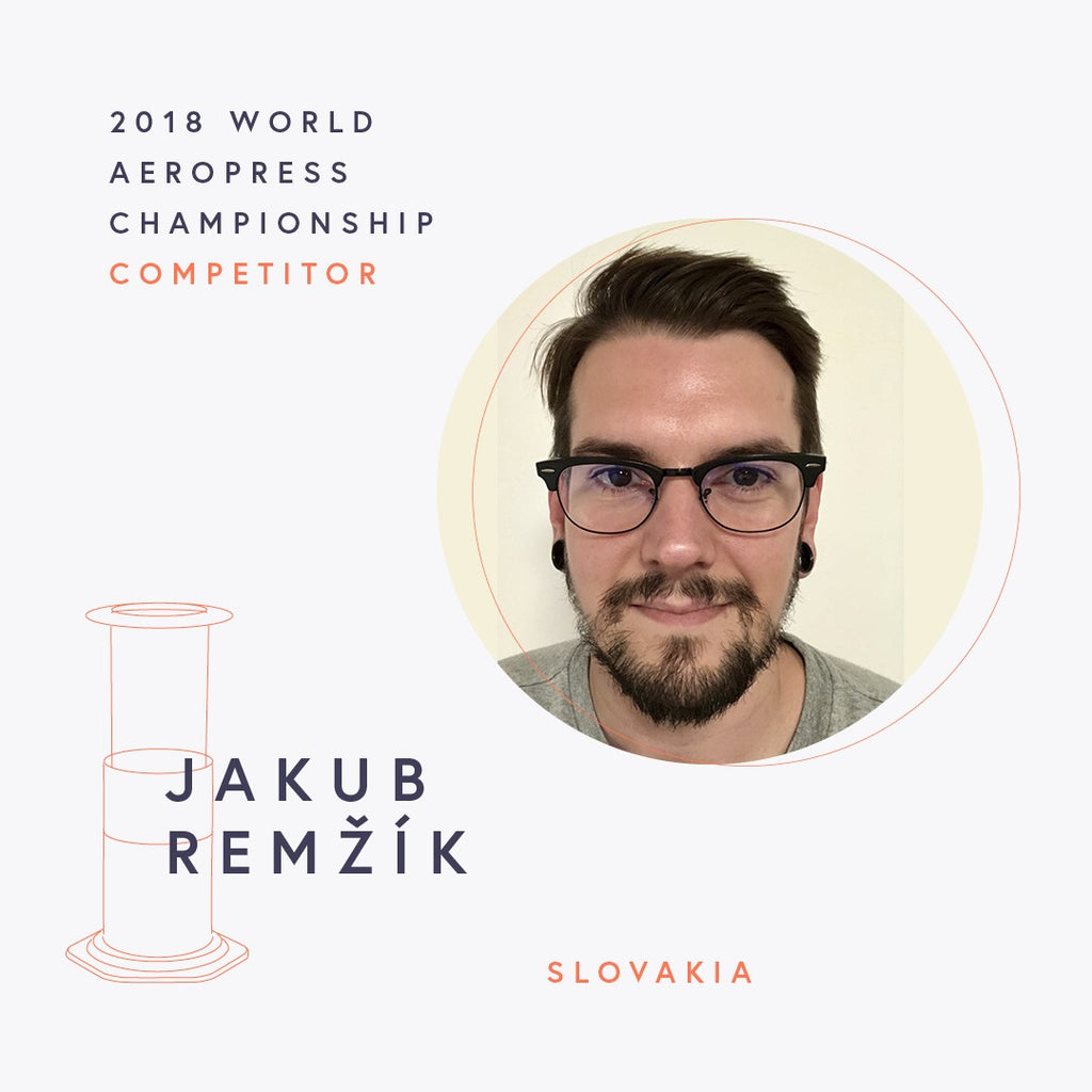 The World AeroPress Championships: Jakub Remžík