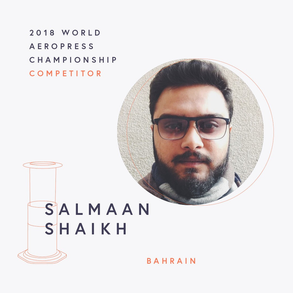 The World AeroPress Championships: Salmaan Shaikh