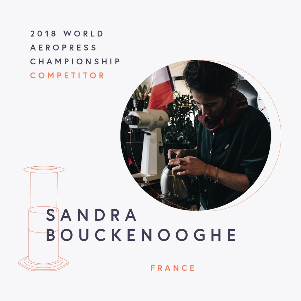 The World AeroPress Championships: Sandra Bouckenooghe