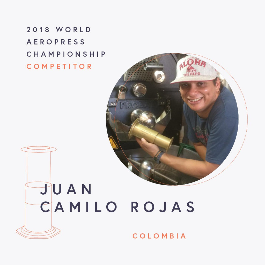 The World AeroPress Championships: Juan Camilo Rojas