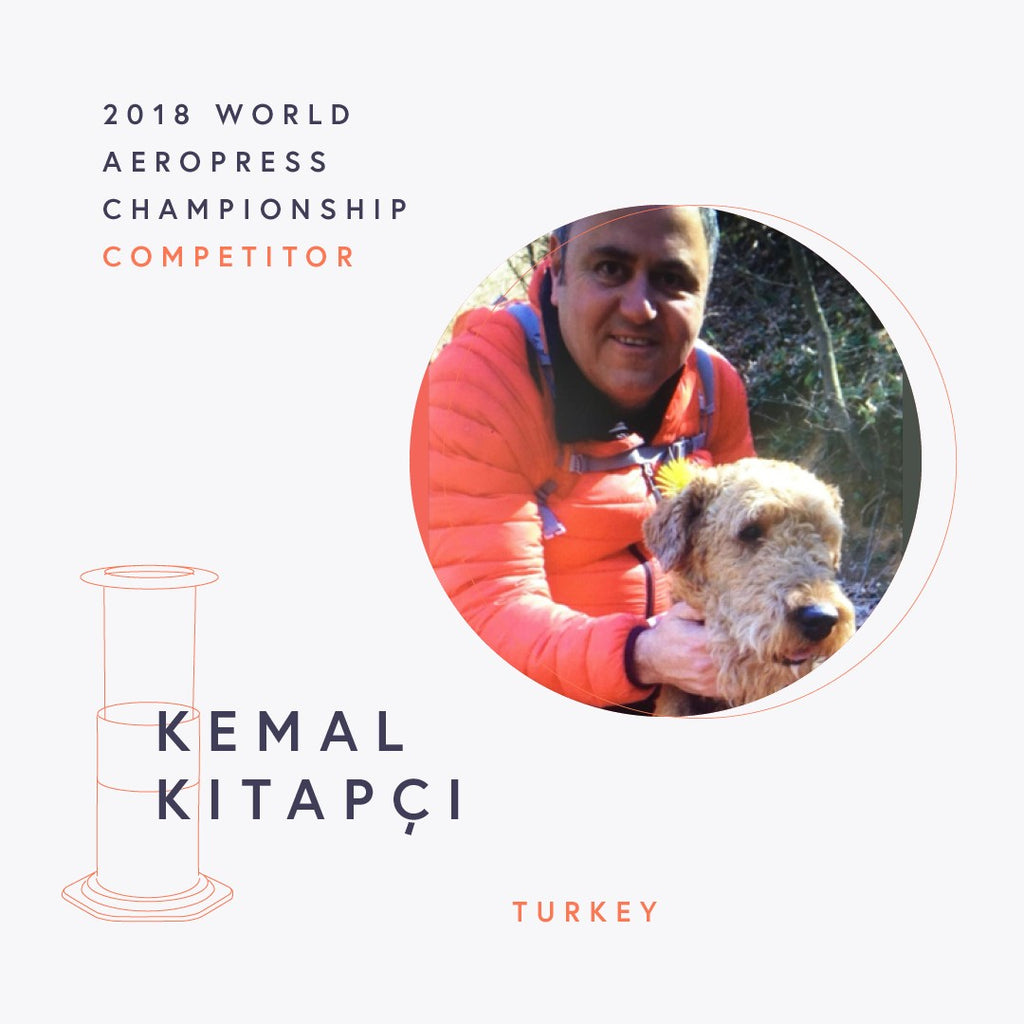 The World AeroPress Championships: Kemal Kitapçi