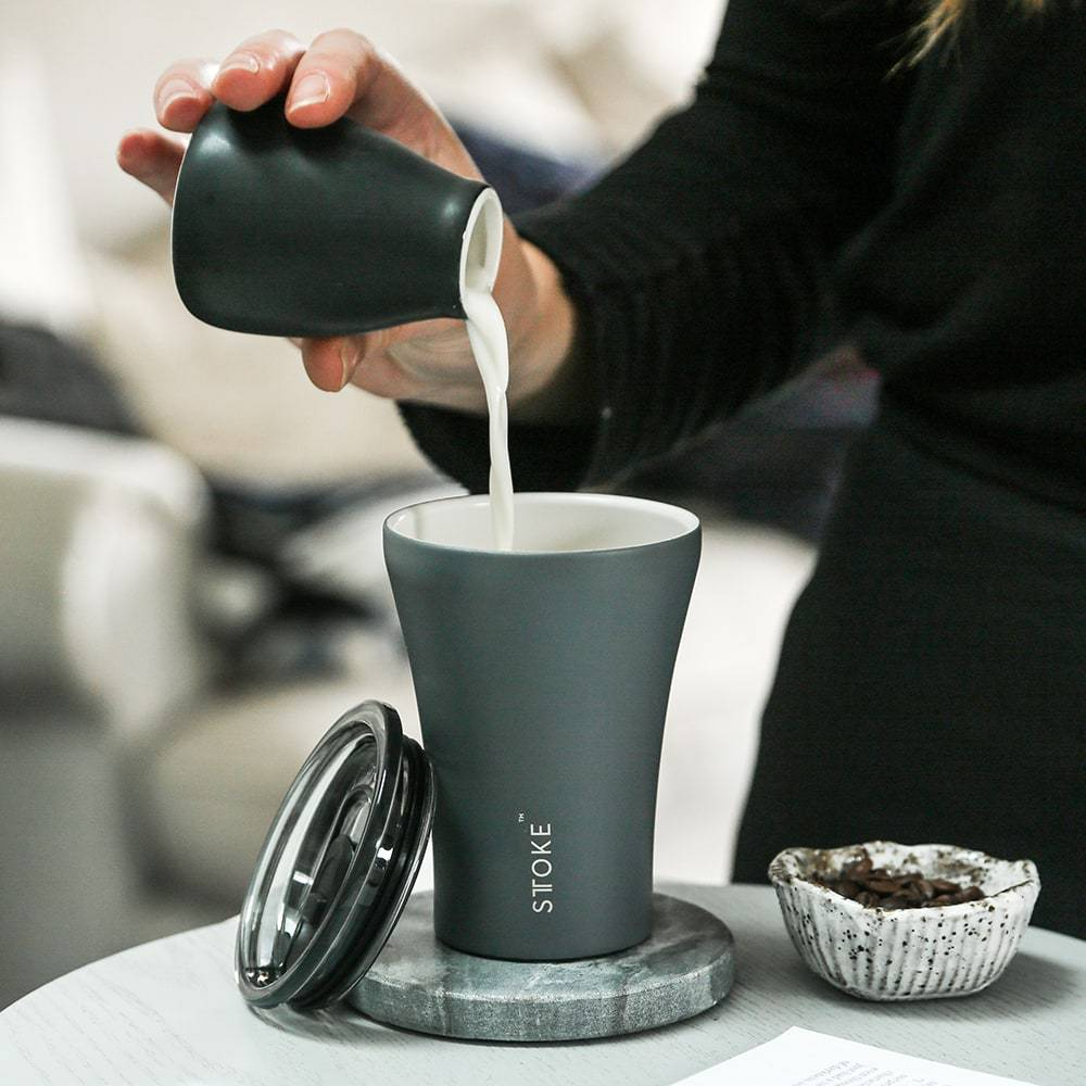 Grey Sttoke Reusable cup - 8oz