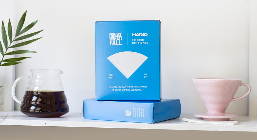 Hario Filter Paper Project Waterfall