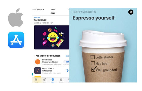 Best Coffee featured on App Store