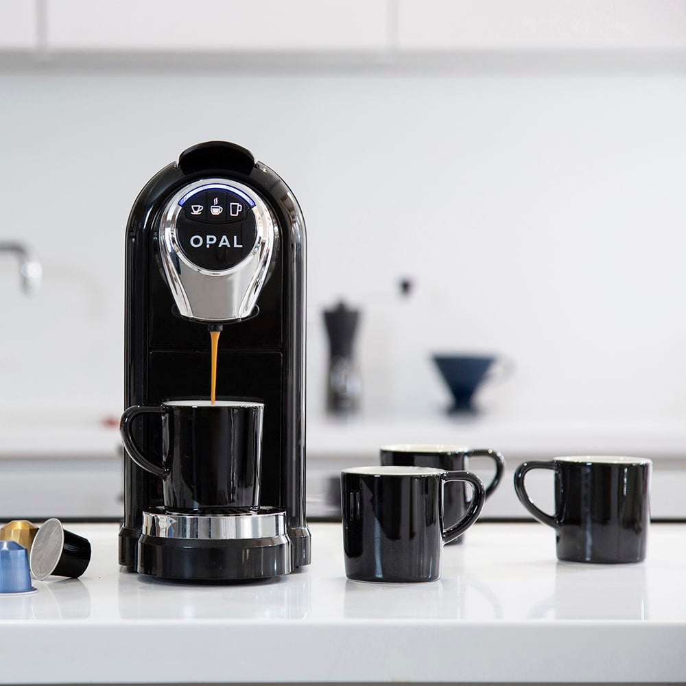OPAL One Coffee Pod Machine + Espresso Cups