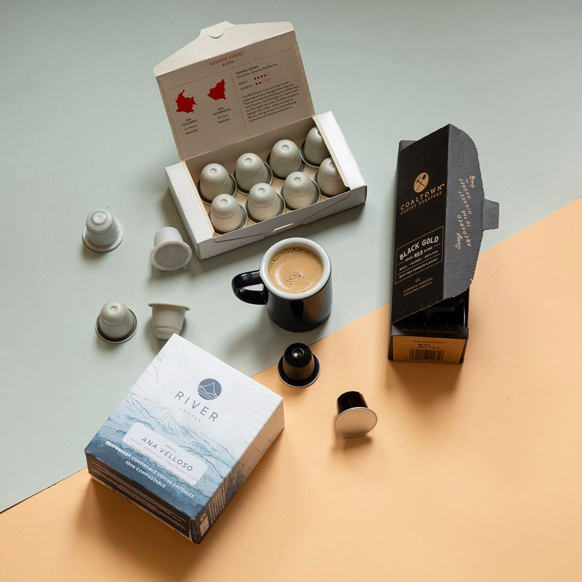 Best Coffee Pod Subscription Box - 60 Speciality Coffee Pods