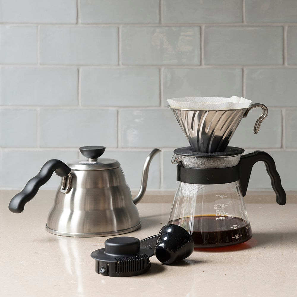 Hario V60 Metal Coffee Dripper Size 02