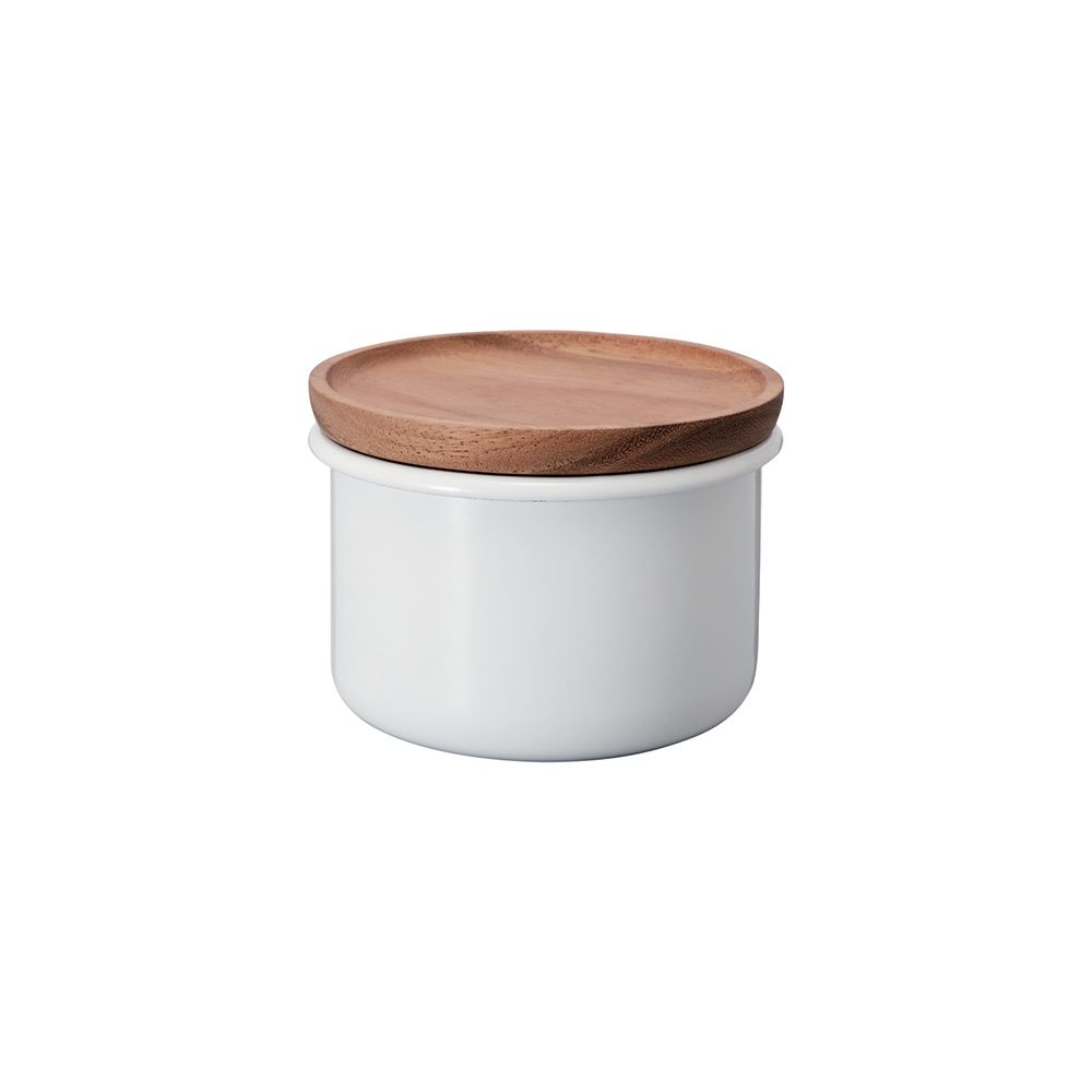 Hario Bona Enamel Tea & Coffee Canister - 400ml