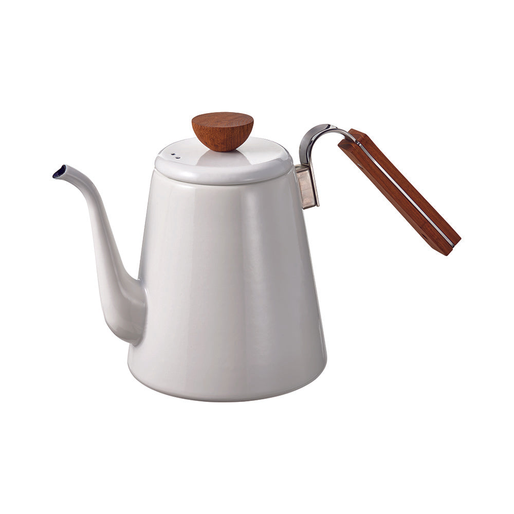 Hario Bona Enamel  Coffee Drip Kettle (800ml)
